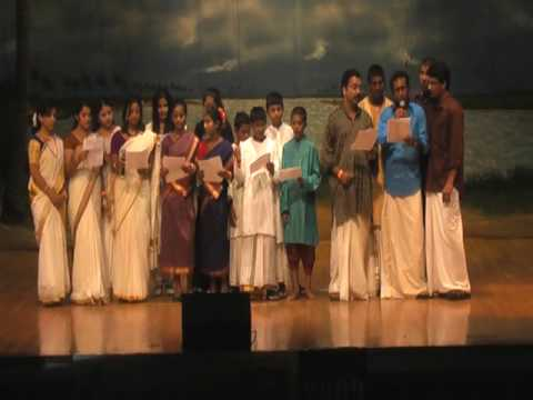 Kcs Onam Mela 09 - poovili Poovili Ponnonamayi Onam Group Song video
