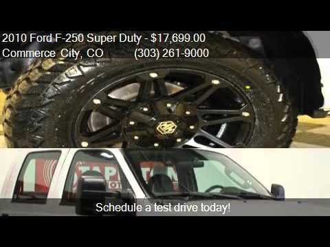 2010 Ford F-250 Super Duty SUPER DUTY for sale in Commerce C