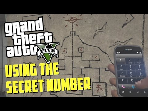 GTA 5 EASTER EGGS - USING THE SECRET PHONE NUMBER! (Mount Chiliad, Military Base & More!)