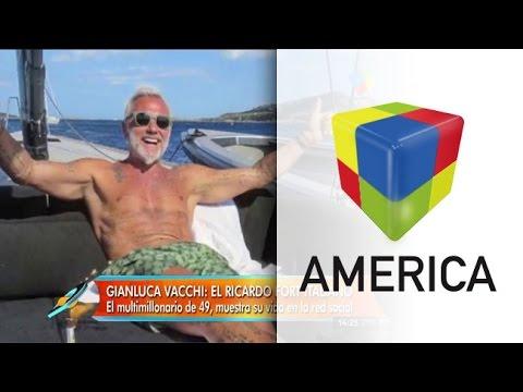 Gianluca Vacchi, el Fort italiano que revoluciona las redes a puro baile