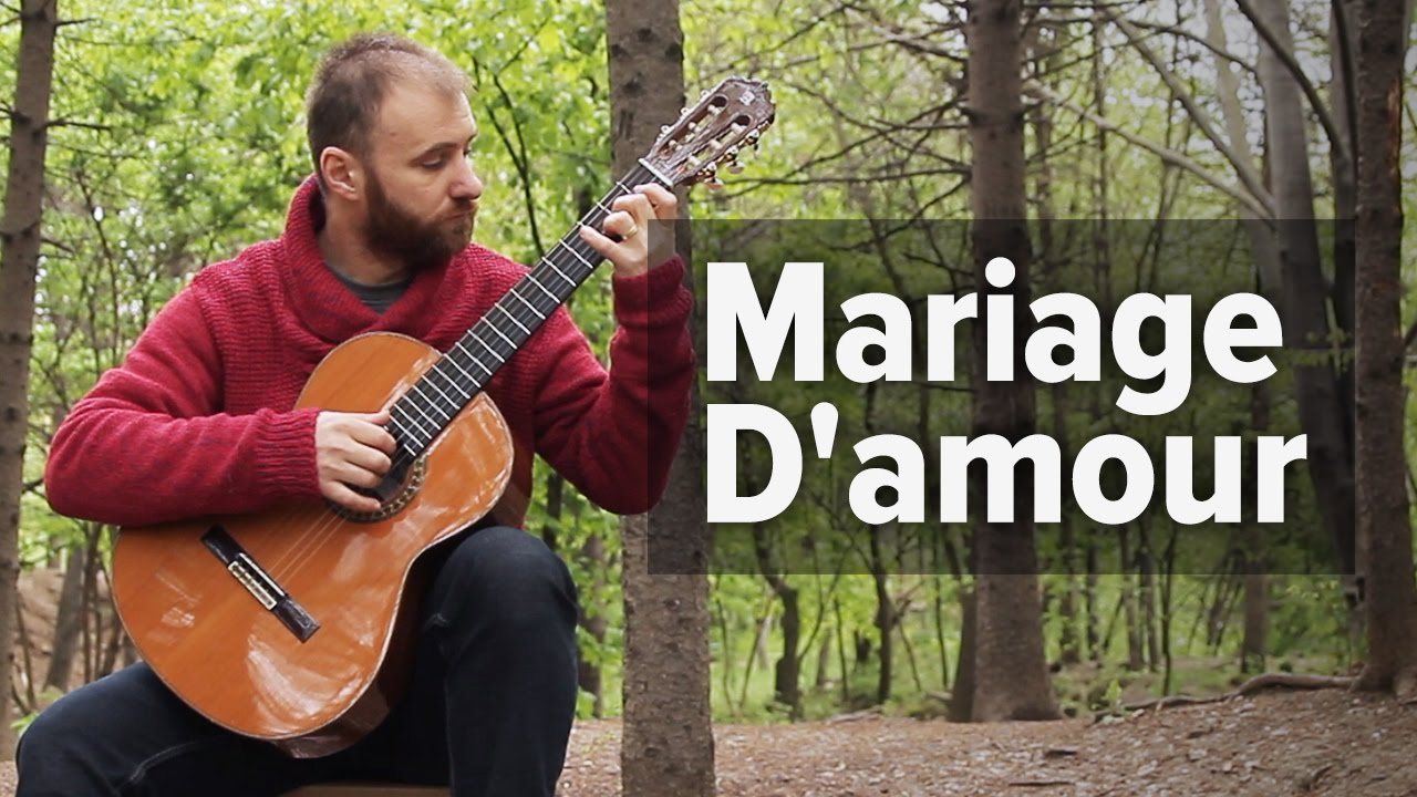 Marriage d'amour guitar youtube music