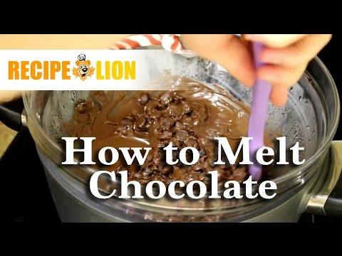 How To Melt Chocolate: Two Ways