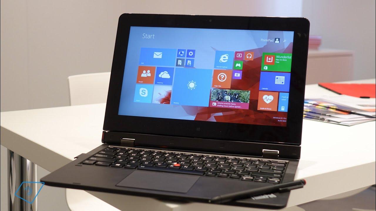 Lenovo ThinkPad Helix 2 Hands-On - YouTube