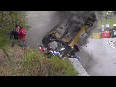 Jolly Rally Valle d'Aosta 2014 — Big crash