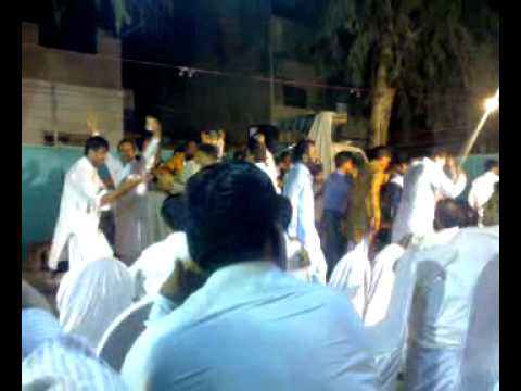 shahed khawaja ki shadi ki party in azeem pura 1