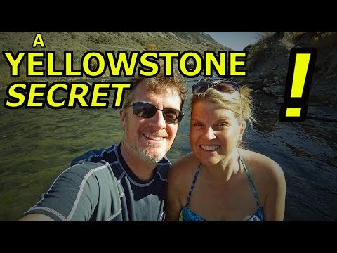 Our SECRET SPOT in YELLOWSTONE NATIONAL PARK!