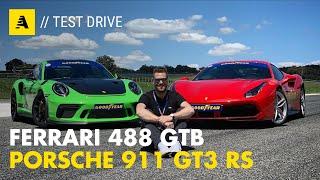 Ferrari 488 GTB e Porsche 911 GT3 RS   In comune le nuove Goodyear Eagle F1