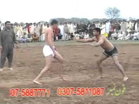 Kabbadi Match Gujrat v/s Mandi in Bhago Kharian Gujrat Chaudhry Naja Meelu Dhunni 03 03 2011