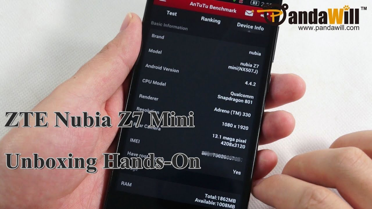 finds zte nubia z7 max unboxing Android helping
