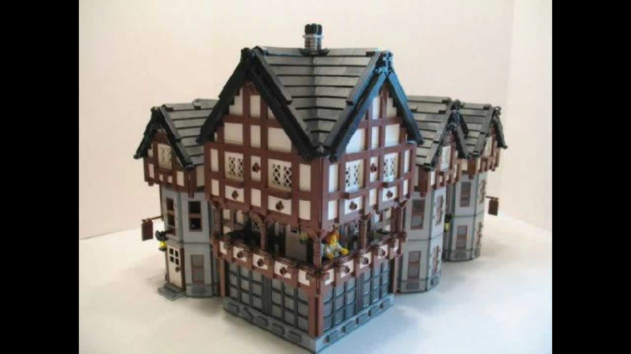 Lego Medieval Houses Youtube