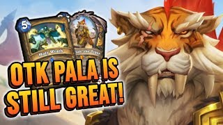 HOLY WRATH PALADIN in Rise of Shadows! | Hearthstone