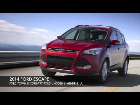 2014 FORD ESCAPE IN MINDEN, LA