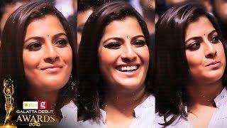 Varalaxmi Sarathkumar Unseen Cute & Candid Moments At Galatta Debut Awards 2018