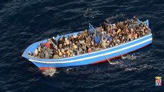 ITALY - Some Good News - Around 400 illegal invaders  reported drowned after boat capsized