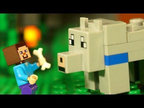 Лего НУБик и СТИВИК Майнкрафт Мультики LEGO Minecraft - Видео Мультфильмы для Детей
