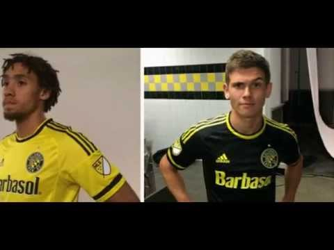 Columbus Crew Uniforms Columbus Crew 2015-2016