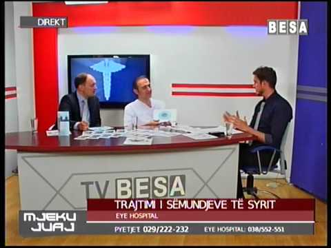 "Trasjtimi i semundjeve te syrit ne spitalin ""EYE HOSPITA"" - Prishtina"