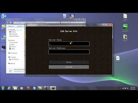 How to play cracked Minecraft servers/Play multiplayer on a cracked Minecraft