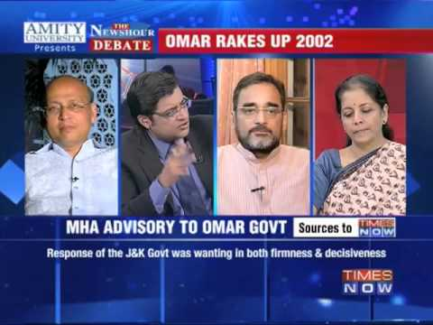 The Newshour Debate: Quoting Gujarat to defend Kishtwar - Part 3