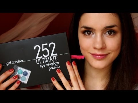 Coastal Scents 252 Ultimate Eyeshadow Palette Review!