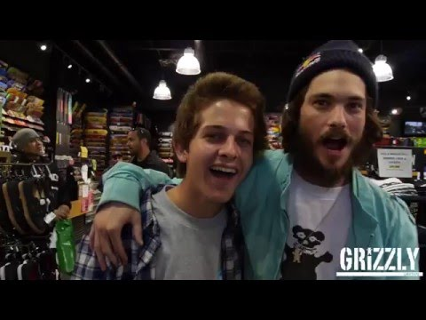 Grizzly Griptape Team Signing - Boarders Arcadia