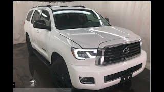 2018 Toyota Sequoia TRD Sport| Pearl White| Courtesy Chrysler