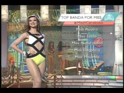 Gala Interactiva Miss Venezuela 2013. Traje de baño