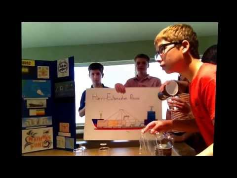 FLL Team #3552 Legocy Shows you their Solution in Process for First Lego League Natures Fury Robot