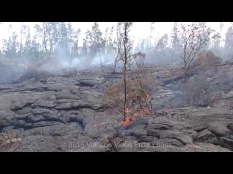 2015-01-07 lava flow activity