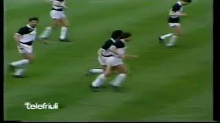 Serie A: Udinese - Napoli (2-2) - 12/05/1985