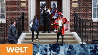 Royale Baby ist da: Herzogin Kate bringt einen gesunden Jungen zur Welt