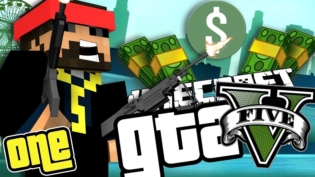 Minecraft GTAV: A NEW START WITH ALL THE MONEY!! [1]