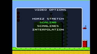 Hi Def NES Update 2 - Scanlines and Stretching