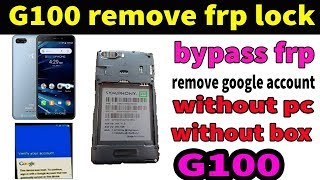 Symphony G100 FRP Lock Bypass , Remove FRP Symphony mobile g100 Bangla Tutorial