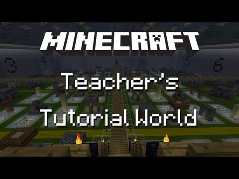 Minecraft Teacher's Tutorial World!