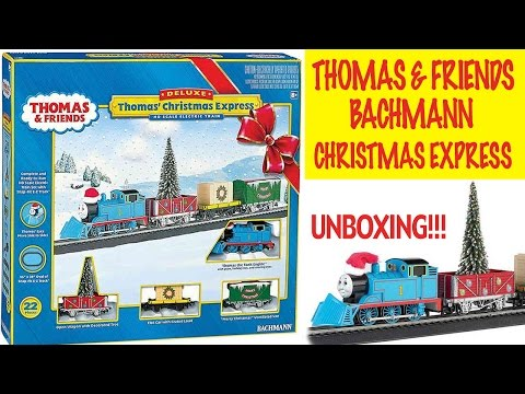 Bachmann Thomas & Friends Christmas Express - Review and Unboxing!