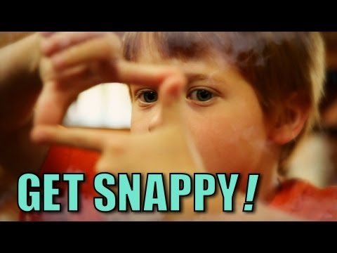 Get Snappy - OFFICIAL Music Video - The Choo Choo Bob Show