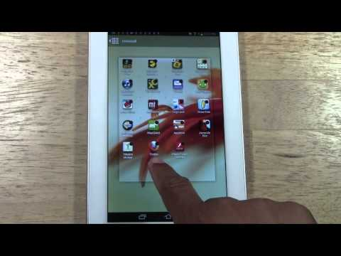 Galaxy Tab 2 7.0 - How to Uninstall (Remove) an App​​​   H2TechVideos​​​