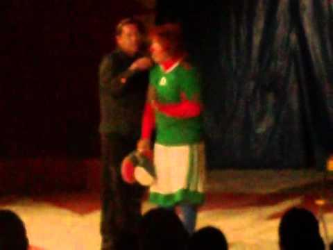 circo onix ,payasos chilenos richs y ari.cd juarez 2011