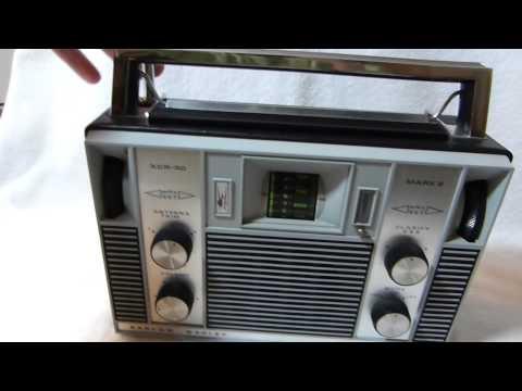 Barlow Wadley XCR-30 Mark 2 shortwave radio made in South Africa circa 1975