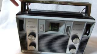 Barlow Wadley XCR-30 Mark 2 shortwave radio made in South Africa circa 1975