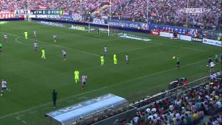 Atletico Madrid vs Barcelona 720p Second Half | English Commentary | 17-05-2015