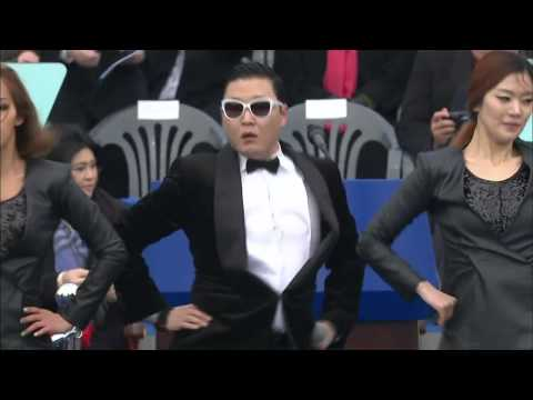 PSY - GANGNAM STYLE @ South Korea Presidential Inauguration Ceremony