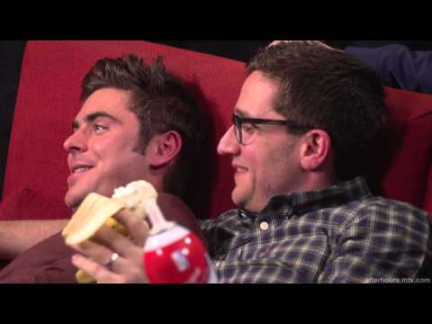 'Up Close' With Zac Efron And Seth Rogen
