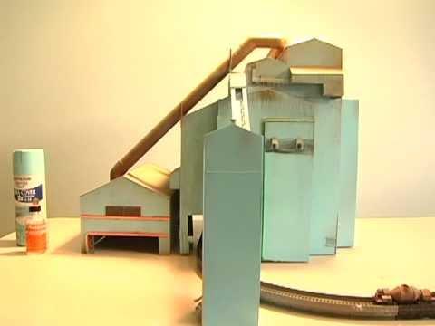 N Scale Steel Mill - Basic Oxygen Furnace Bof Uss Edgar Thomson Works