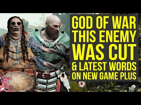 God of War News - This Huge Enemy Was Cut, Latest Words On New Game Plus (God of War 4 New Game Plus thumbnail