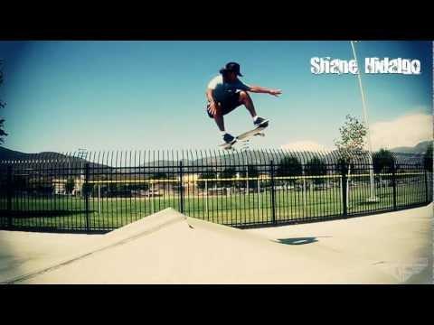 Gravity Skateboards - Shane Hildalgo Park Session On The Pool 36