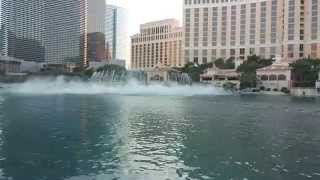 Bellagio Hotel Fountains Las Vegas