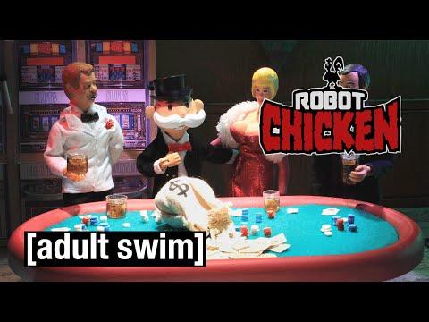 Boardwalk Monopoly | Robot Chicken | Adult Swim