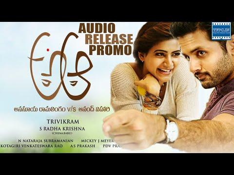 A Aa Movie Audio Release Promo | Nithiin | Samantha | TFPC